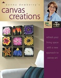 (Folk Art High Definition Painting Books: Canvas Creations With Donna)