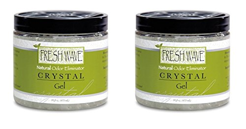 Fresh Wave Odor Eliminator Crystal Gel - 16 oz - Qty : 2