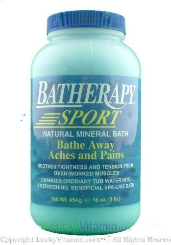 Batherapy Sport Natural Mineral Bath - Queen Helene Batherapy Sport Natural Mineral Bath - 16 oz - Pack of 8