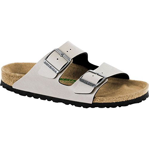 Birkenstock New Unisex Arizona Slide Sandal Stone Pull Up 40 R ()