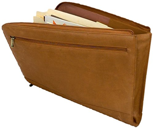GOODHOPE Bags Veracruze Legal Size Document Case, Tan