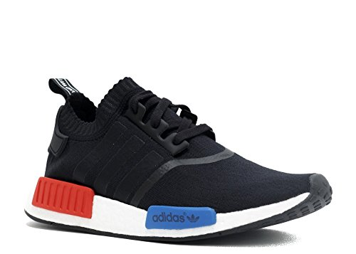 01bc3a2791f15 Adidas NMD R1 PK Primeknit OG - Core Black Core Black Lush Red Trainer -  Buy Online in UAE.