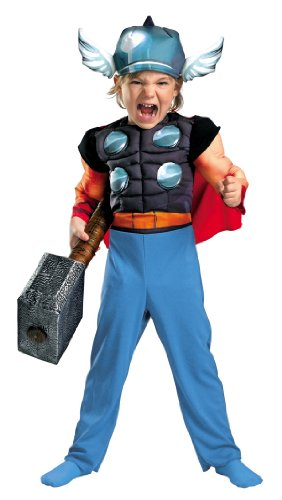 Disguise 11767S Thor Toddler Muscle