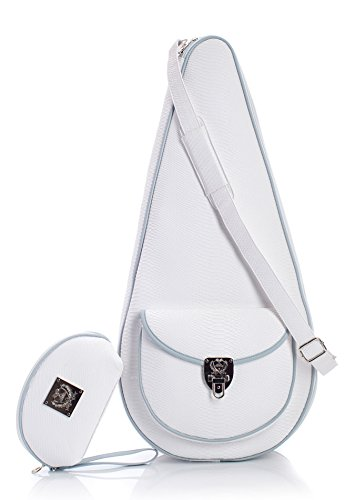 Court Couture Barcelona White Tennis Bag/ Sling Bag