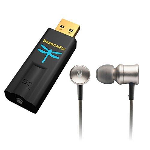AudioQuest/Meze Bundle - DragonFly Black USB DAC/Headphone Amplifier and 11 NEO Iridium Premium High Fidelity Aluminum IEM Earphones Bundle [並行輸入品]   B078G7SMB2