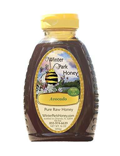 Avocado Raw Honey 16oz (Pure, Natural, Unfiltered Honey)