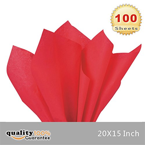 Which are the best red tissue paper bulk 100 sheets available in 2019?