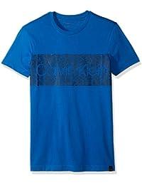 Calvin Klein Men's Short Sleeve Dash Logo Crew Neck T-Shirt
