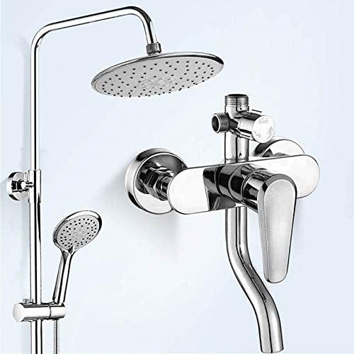 FuAo Sistema de Ducha para baño y baño, Columna de Ducha montado ...
