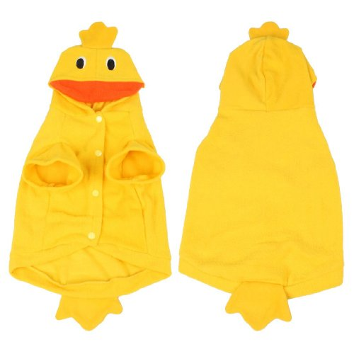[Dcolor Costume Party Xmas Duck Design dogs Clothing Pet Apparel XL] (Duck Costumes For Dog)