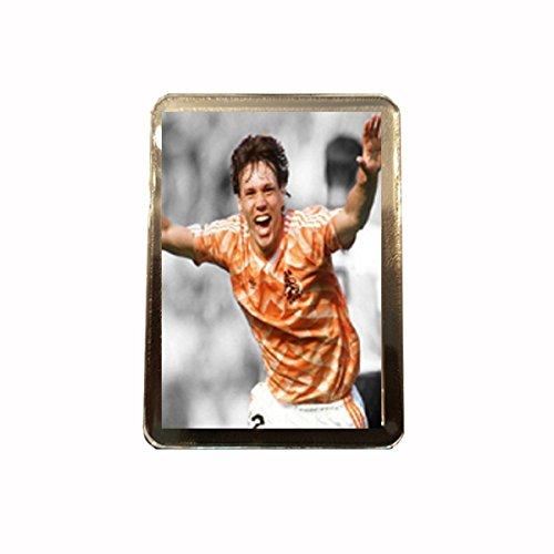 Mundo Fútbol iconos - Imán para nevera (Van Basten): Amazon.es: Hogar