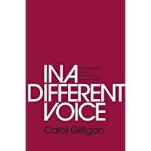 in a different voice psychological theory and womens development