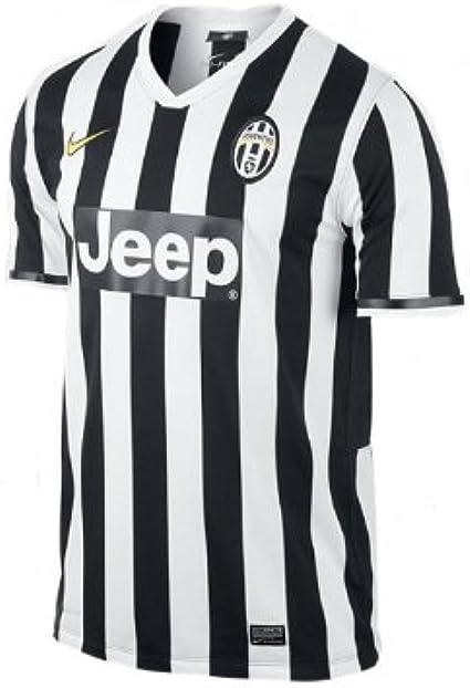 Nike Men Camiseta del Equipo de Fútbol Juventus de Turín Home ...
