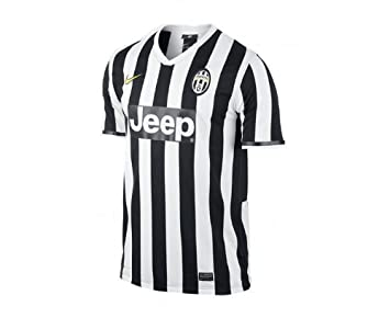 the latest f9064 a3350 Nike Men's Juventus Turin Home Replica Short Sleeve Jersey