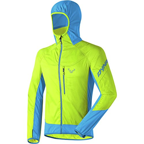 Dynafit Mezzalama Alpha PTC Jacket - Men's Lime Punch, XL (Jacket Superlight Insulated)