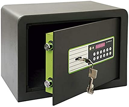 Caja Fuerte Sobreponer Electrica 250X350X250 Supra 240020: Amazon ...