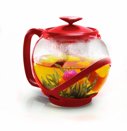 Primula PTRE-2340 Tempo Teapot with Infuser and Lid, 40-Ounc