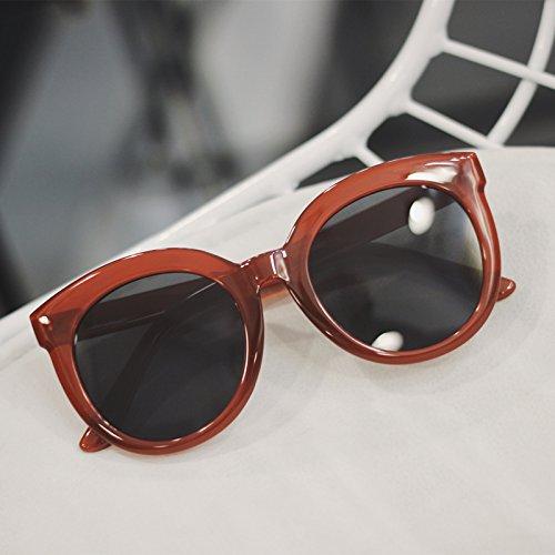 VVIIYJ Occhiali da sole Donna faccia tonda Occhiali da vista grandi occhiali da sole bianchi con montatura rotonda Occhiali da vista rotondi ,bianco crema