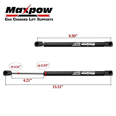 Maxpow 2pcs Hood Lift Supports Shocks Struts Compatible With Ford Explorer 2002 2003 2004 2005 2006 2007 2008 2009 2010 4142 8097SS (excluding sport Trac): Automotive