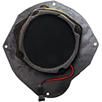 ACDelco 9382859 GM Original Equipment 6 in Round Front Driver Side Door Radio Speaker