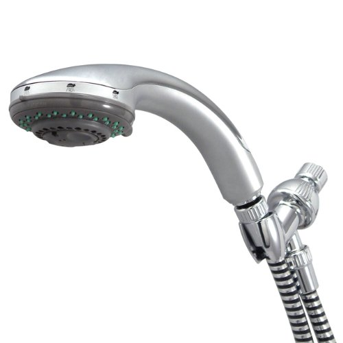 Kingston Brass KX2528 Designer Trimscape Showerscape 5-Setting Hand Shower, Polished (Personal Handheld Showerhead)