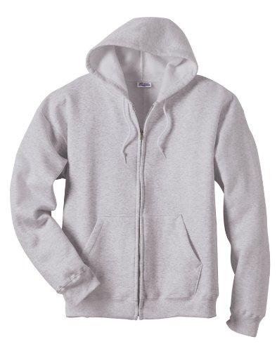 Hanes 7.8 oz Men's COMFORTBLEND EcoSmart Full-Zip Fleece Hood by Hanes (Image #2)