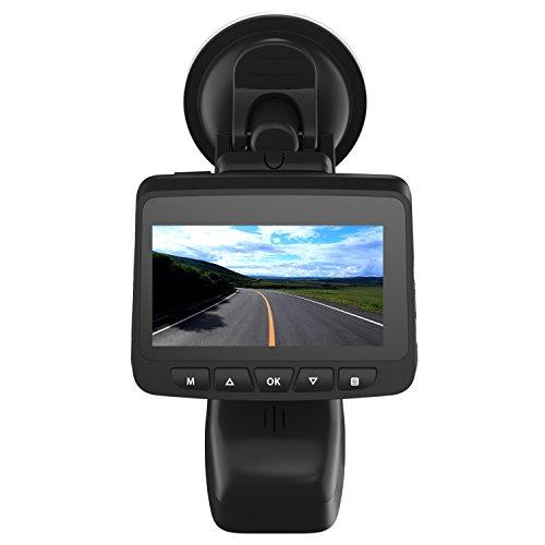 OUCOMI Car Dash Cam, HD 1080P WiFi Driving Recorder with Loop Recording, G-Sensor, Parking Monitor Vehicle Blackbox DVR Black (Recorder Black Box)