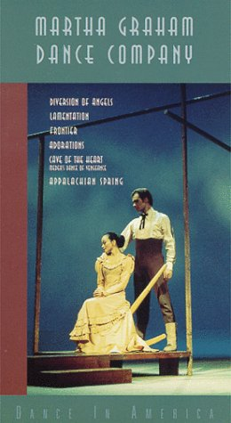 Martha Graham Dance Company's Dance in America: Diversion of Angels / Lamentation / Frontier / Adorations / Cave of the Heart (Medea's Dance of Vengenance) / Appalachian Spring [VHS]