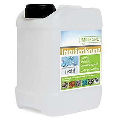 """'Impr egno imprégnation """"Textile 5l Agent Protection entretien fluorfrei écologique Waterproof"""