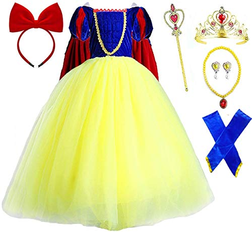 Romy's Collection Princess Snow White Party Deluxe Costume Dress-Up Set (4-5)