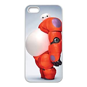 DIY baymax art Case, DIY Phone Case for iphone 5,5s with baymax art (Pattern-1)