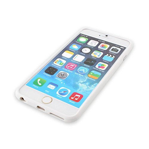 Iphone 6/6s Silicon Bumper White by G4GADGET®