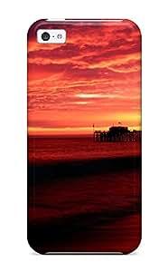 New Fashionable Jalik Davis YnpaIuE21801lpZvd Cover Case Specially Made For Iphone 5c(balboa Pier, California)