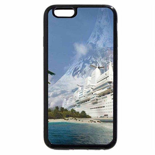 iPhone 6S / iPhone 6 Case (Black) My Boat On My beach