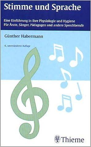 Stimme und Sprache: Amazon.de: Günther Habermann: Bücher