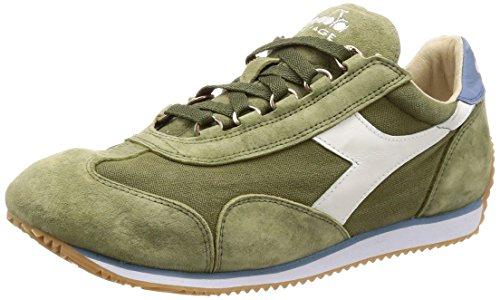 Heritage Equipe Sombreado Wash Hombre Stone Sneakers Hierba Seca 12 C7436 Mujer y Diadora para Verde azul dZEIxd