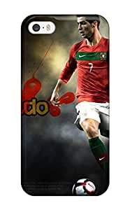 Ultra Slim Fit Hard ZippyDoritEduard Case Cover Specially Made For Iphone 5/5s- Cristiano Ronaldo Shoes