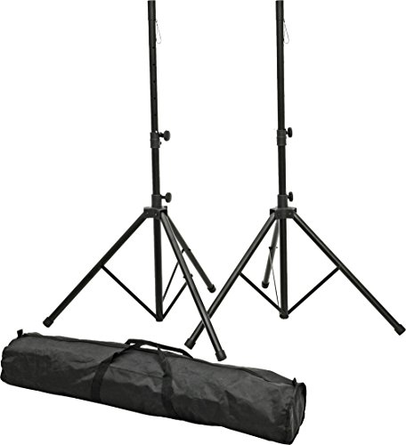 Proline PLSP1 Speaker Stand Set with Bag Black by PROLINE