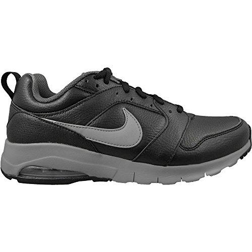 Air Max Noir Cuir Course En De noir Motion Pied Nike Adulte Unisexe Chaussures Aq6PIWXwn