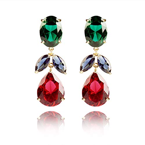 Dangle Drop Earrings for Women Fashion Christmas Teardrop Post Earrings Summer Gift