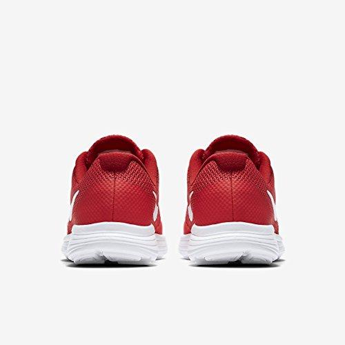 Nike Revolution 3 (GS), Zapatillas de Running Para Niños Rojo