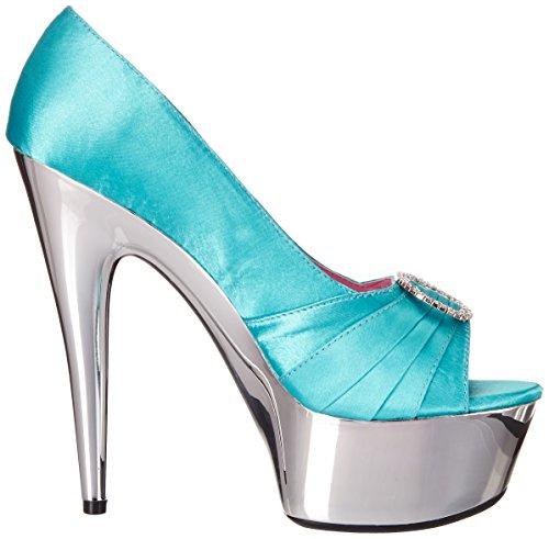 Ellie Shoes Womens 609-lauren Jurk Pump Groenblauw