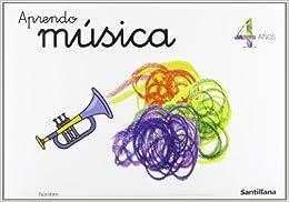 Book CARPETA APRENDO MUSICA 4 AÑOS