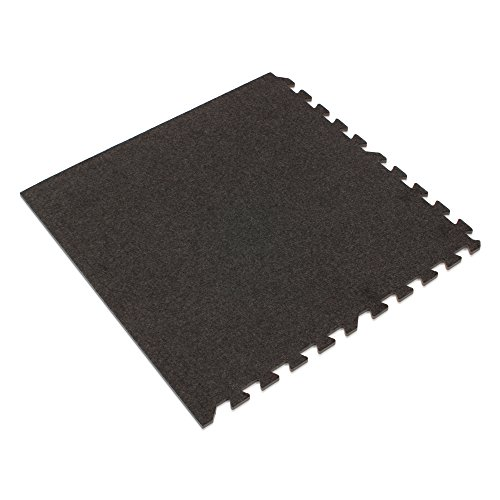 (We Sell Mats Charcoal Gray, 72 sq' 100 Sqft Premium Carpet Tiles, Charcoal Gray)