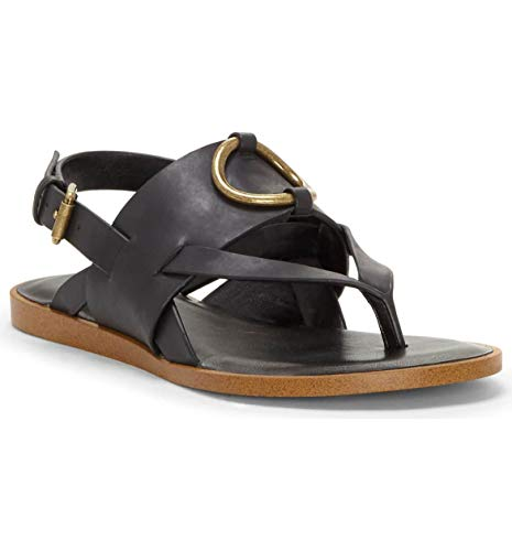 1.STATE Women's Lelle Black Mexico Leather 7.5 M US