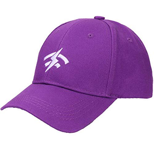 - QBQCBB Women Solid Sport Cap Classic Sun Sports Visor Hat Cap (Purple)