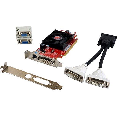 Pcie Ddr2 Video - Visiontek Radeon HD 4350 Graphics Card - ATi Radeon HD 4350 600MHz - 512MB DDR2 SDRAM - PCI Express 2.0 x16 - DMS-59 - 900273
