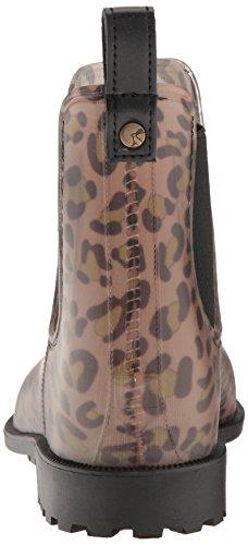 Joules Mujer Leopard Spot Rockingham Chelsea Botas de Goma Leopard