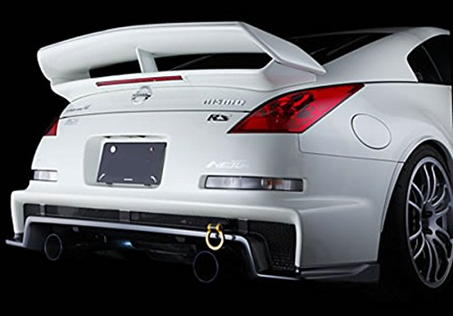 03 up nissan 350z nismo v3 rs style trunk spoiler wing w. Black Bedroom Furniture Sets. Home Design Ideas