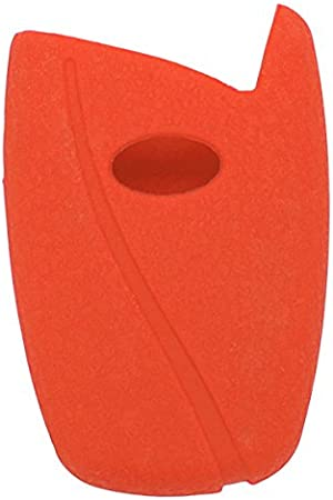 fassport Veste en cuir pour texture housse en silicone peau pour Hyundai ix45/Santa Fe Cl/é T/él/écommande 3/Bouton Smart cv5104